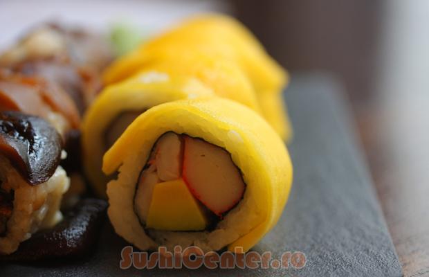 sushi cu mango
