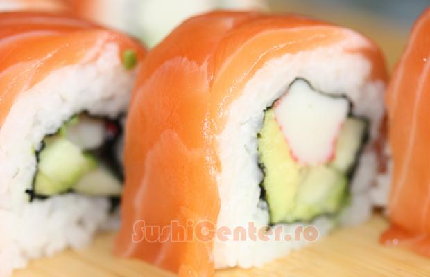 reteta alaska sushi roll