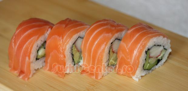 Reteta Alaska Sushi Roll   Sushi Recipes