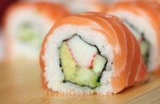 Alaska Roll Sushi Featured